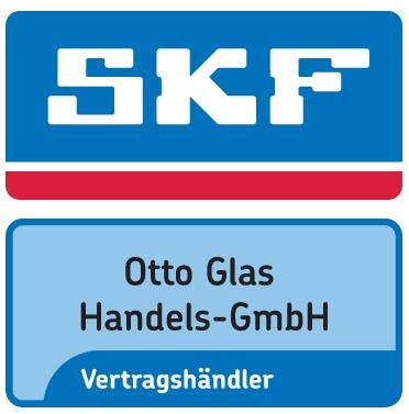 SKF-Logo mit Händlername